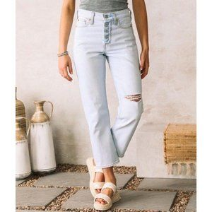 Levi's Wedgie Straight high rise Jeans NWT 26